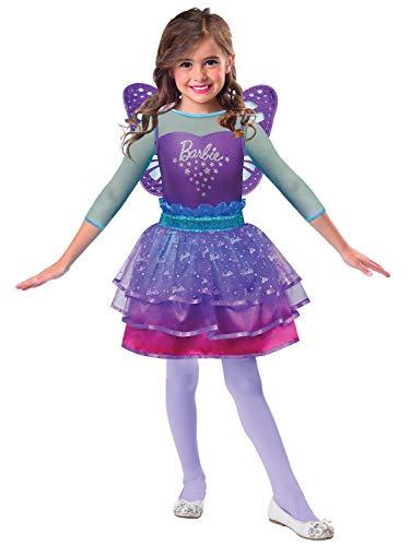 Mädchen Offizielles Barbie Rainbow Fairy Pretty Ombre, Prinzessin, TV-Buch-Film, Kostüm, Outfit, 3-10 Jahre
