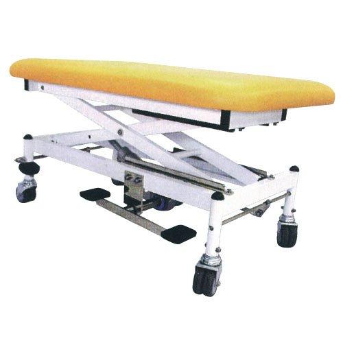マニュアルテーブル R-286-D マニュアルテーブル ライトグリーン(24-2043-00-26)【タイガー医療器】[1台単位]