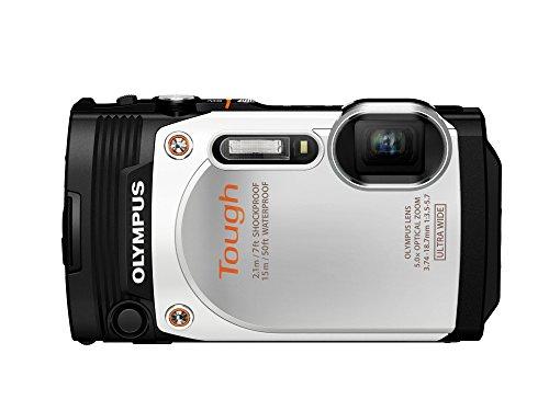OLYMPUS デジタルカメラ STYLUS TG-860 Tough ホワイト 防水性能15m 可動式液晶モニター TG-860 WHT