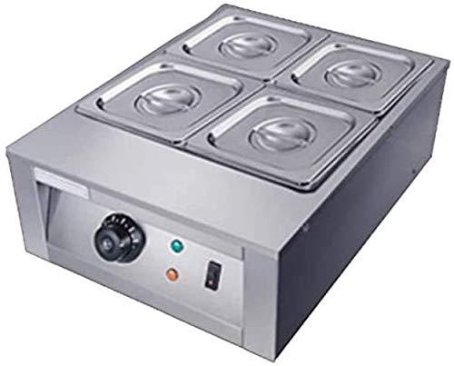 LJXiioo Kommerzielle Schokoladentemperiermaschine 30 ℃ ~ 80 ℃ Schokoladenschmelzgerät mit 2/4 Schmelztiegeln 1500 W Heißschokoladenheizschmelzmaschine,B