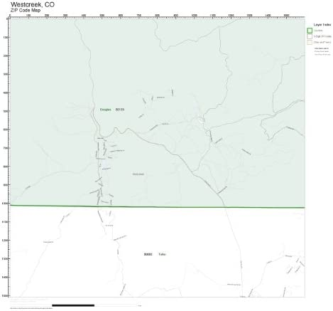 ZIP Code Wall Map Westcreek of Philadelphia Cheap mail order sales Mall CO Laminated