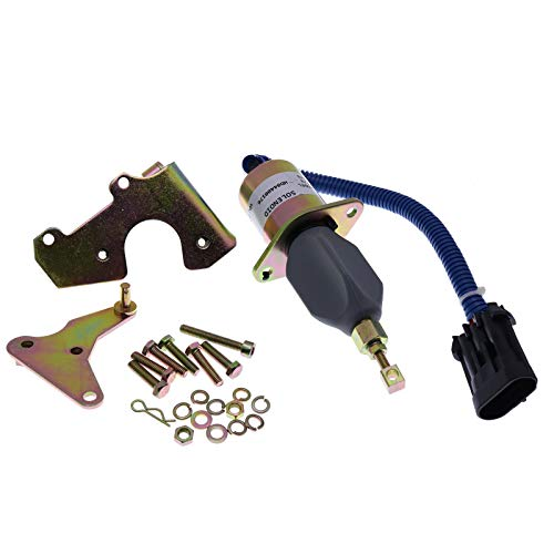 Holdwell Fuel Shut Off Solenoid 3931570 SA-4981-12 compatible with 94-98 5.9L Dodge Cummins 5016244AA for P7100 Pump