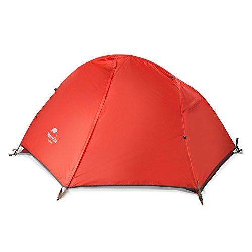 [ ネイチャーハイク ] Naturehike 1人用 ウルトラライト ダブルウォールテント 自立式 テント 超軽量 防水 ...