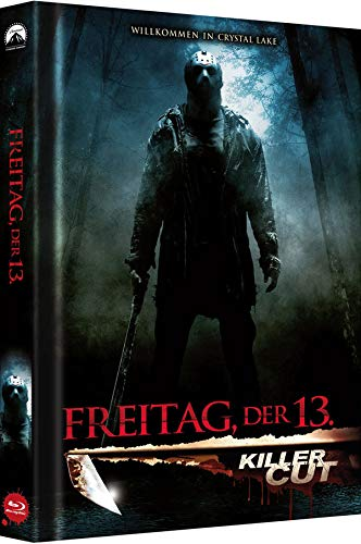 Freitag, der 13. - Killer Cut - Collector's Edition - Mediabook (Cover B) (Killer Cut Aufkleber auf Folie) [Blu-ray]