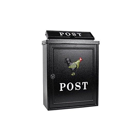 CXQ Wandbehang Schloss Garten Kreative Briefkasten Europäischen Postbox Outdoor Regenwasser Villa Postfach
