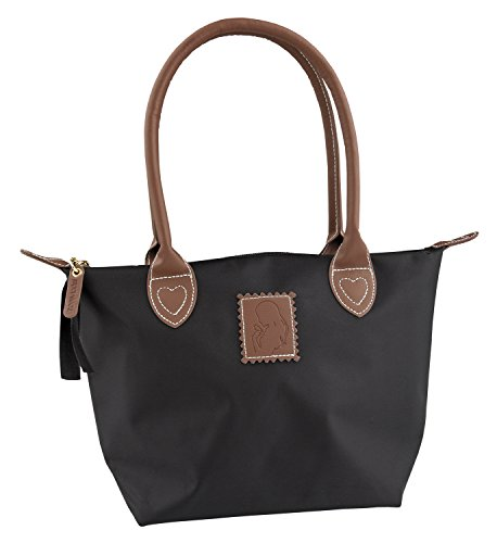 Top Model Durchläufer Sporttasche, 30 cm, schwarz