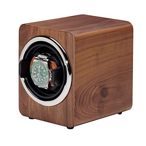 GYMEIJYG Caja De Almacenamiento De Reloj Caja De Reloj De Madera Dispositivo De Bobinado Automático Motor Silencioso para Relojes Almacenamiento Y Exhibición Regalos De Cumpleanos