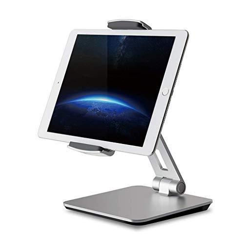 QRYY Soporte para Tableta, Escritorio Ajustable, 360 ° Soporte Comercial Giratorio Giratorio para iPad Pro10.5 9.7'12.9' iPad Air Mini Surface Pro 4 Kiosk POS Stand 3.5'-14' Teléfonos celulares y