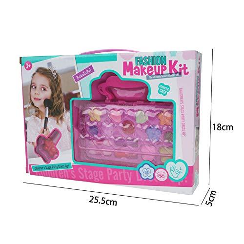 Redcolourful Kids Kinder Make-up Spielzeug Wasserlösliche Kosmetik Spielzeug Tragetasche Mode...