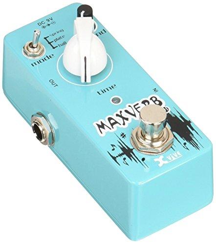 Xvive XD1 Digital Reverb Maxverb Micro Pedal, Blue