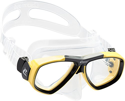 Cressi Focus Custom Prescription Scuba Diving Snorkeling Mask