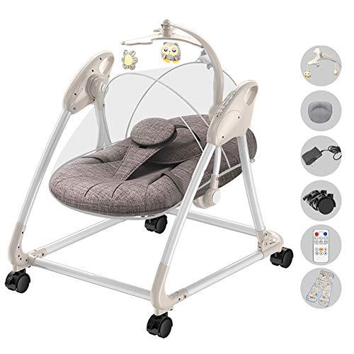 CNMMGL elektrische wieg, kinderen kinderen schommelende hangmat baby schommelstoel baby naar peuter Rocker