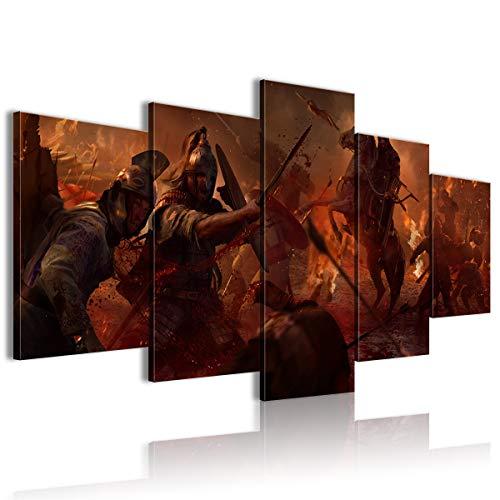 CAFO Total War Attila - Papel pintado 3D (150 x 80 cm, enmarcado)