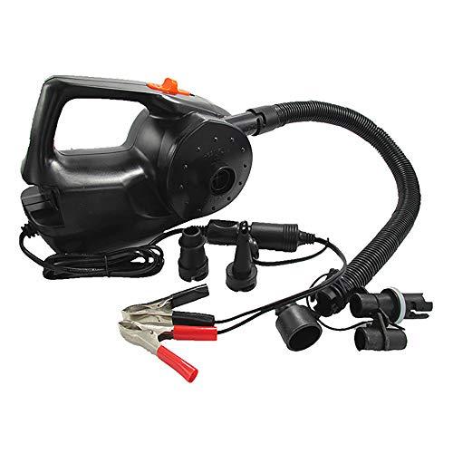 Baiyi Elektrische pomp, 12 V, 100 watt, voor kajak, zwembad, luchtkussen, bal, automatische draagbare blazer