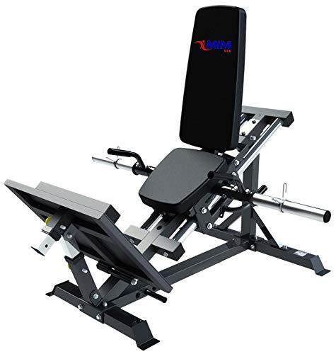 MiM - Máquina de elevación para piernas LP 5005 – Nueva versión compacta – Perfecto para tu Estudio en casa