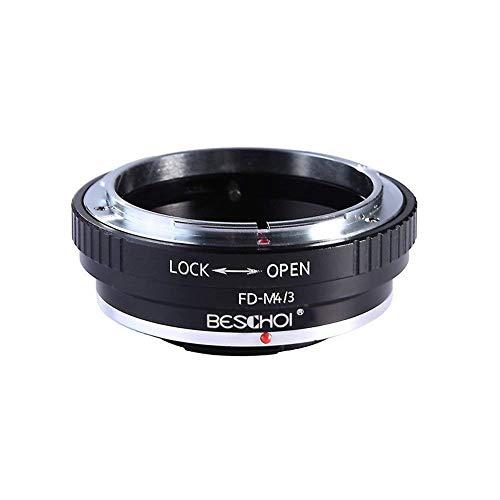 FD para Micro 4/3, Beschoi Adaptador de Montaje de Lente para Canon...