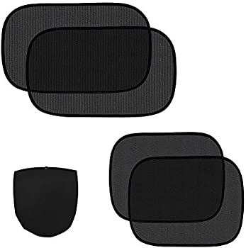4 Pack ZATAYE Car Side Windows Sunshade