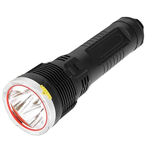 Pwshymi Mit USB-Ladekabel IPX5 wasserdichte Taschenlampe aus Aluminiumlegierung, die als Power Bank verwendet Wird
