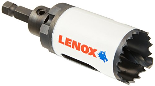 LENOX Tools Hole Saw with Arbor, Speed Slot, 1-1/4-Inch (1772491)