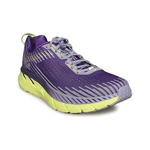 HOKA ONE ONE Women's Clifton 5 Running Shoe Grape Royale/Lavender Aura 5.5 M US