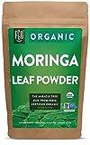 Organic Moringa Oleifera Leaf Powder   Perfect for Smoothies, Drinks, Tea & Recipes   100% Raw From India   8oz/226g Resealable Kraft Bag   by FGO