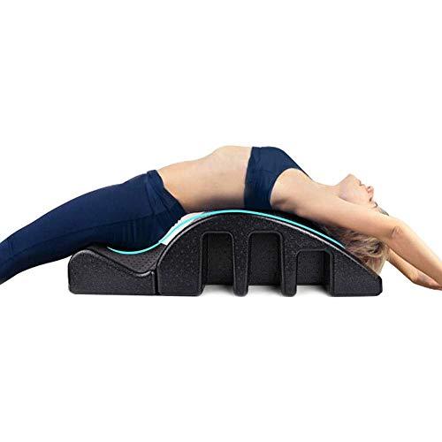 CHA Yoga Pilates Cama de Masaje, PPE Arco Barril Masaje de Espalda Columna Cervical Equipo de corrección para el Balance de Cuerpo Que Forma