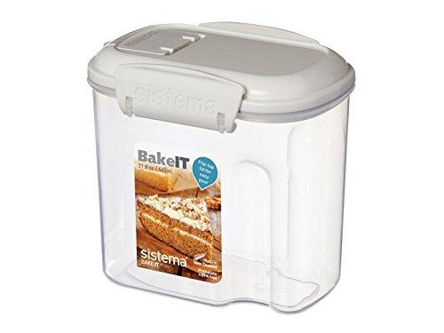 Sistema KLIP IT Mini Bakery Storage Container, 645 ml, 12 x 8.7 x 11.4 cm, Assorted