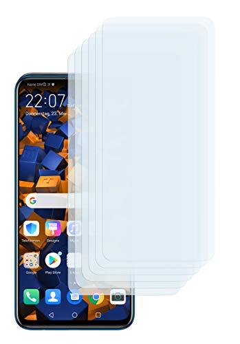 mumbi Schutzfolie kompatibel mit Huawei P Smart Z Folie klar, Displayschutzfolie (6X)
