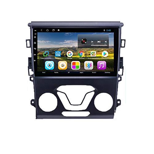 Android 9.0 Unidad De Cabeza DIN DICE DIN CAR STEREO FORFORD MONDEO 2012 2013 2014 GPS Navegación Pantalla Táctil Multimedia Player Radio Receptor Carplay DSP RDS(Size:ocho núcleos,Color:WIFI:2+32G)