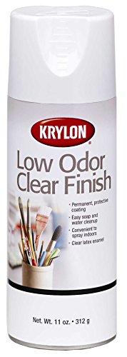 Krylon K07120 11-Ounce Low Odor Clear Matte Finish Aerosol Spray