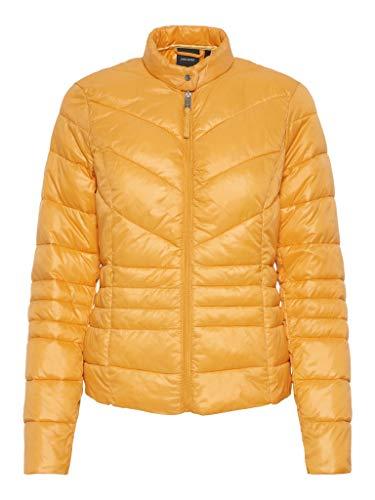 Vero Moda Vmsiv Soraya Short Jacket Boos Chaqueta, Amarillo (Golden Nugget), 40 (Talla del Fabricante: Medium) para Mujer