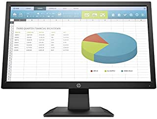 HP Computer Monitor LED 19.5 Inch - 5RD65AS