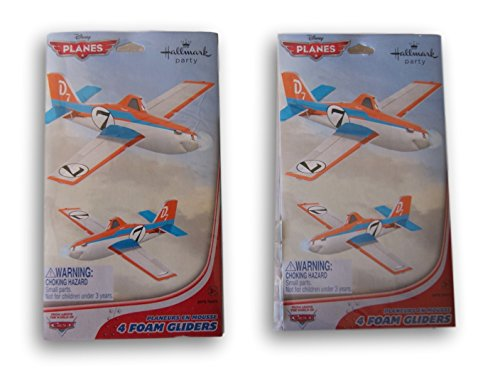 Disney Planes Foam Glider Party Favors - 8 Count