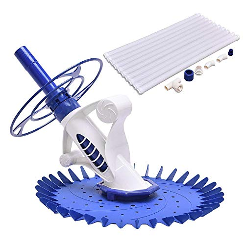 Goplus Automatic Swimming Pool Cleaner Set with 32'6