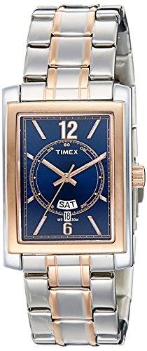 Timex - Reloj analógico para Hombre, Esfera Azul
