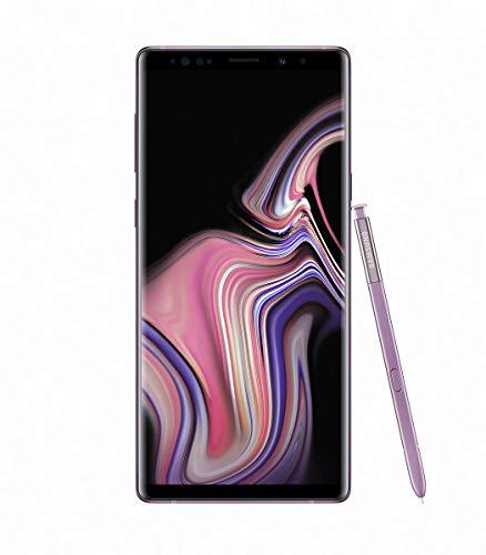 "Samsung Galaxy Note 9 SM-N9600 Dual SIM (128GB/6GB, Lavender Purple) 6.4"" QHD+ sAMOLED Factory Unlocked GSM (No CDMA) - International Version (No Warranty)"