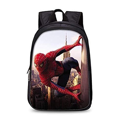 Spiderman School Bag, Spiderman Backpack, Durable Waterproof Backpack, Comfortable and Stylish School Backpack