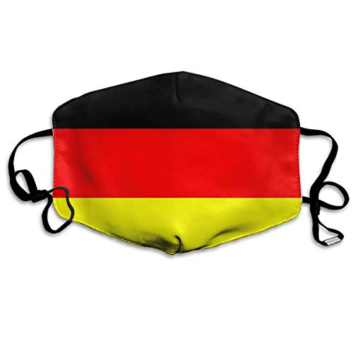 Multifunktionale Gesichtsschutzhülle,Deutschland Flagge Unisex Waschbare Wiederverwendbare Gesichtsdekorationen Für Den Persönlichen Schutz