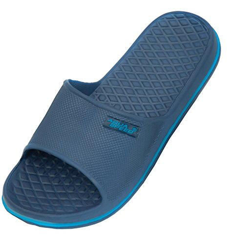 Aqua-Speed Cordoba Pool Zapatos, Infantil, Azul Oscuro, Talla 30