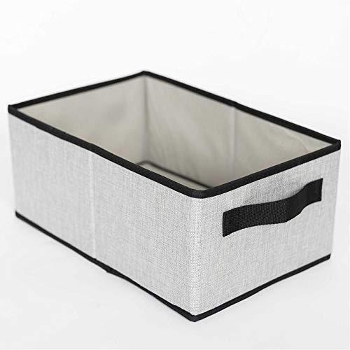 generio Kleidung Aufbewahrungskorb Baumwolle Leinen Stoff Aufbewahrungsboxen Behälter Behälter Kleidung Spielzeugkorb