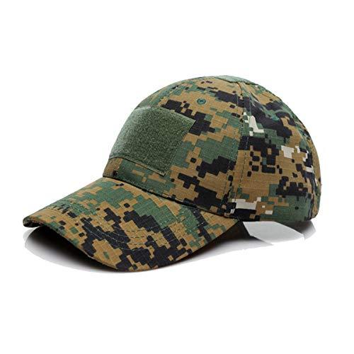 QMFIVE Berretto da Baseball tattico, Outdoor Cappello da Protezione per Protezione Solare Chapeau per Il Campionato tattico Airsoft Paintball Climb
