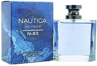 NAUTICA Voyage N83 - Eau de Toilette Spray 3.4 fl oz (100 ml)
