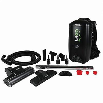 Atrix HEPA Backpack Vacuum, Standard Bundle, black,VACBP1