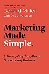 Marketing Made Simple by Donald Miller book cover