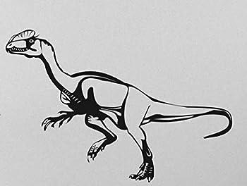 Velociraptor Dinosaur Transfer tattoos tattooing temporary tattoos Cute Face tattoos one sheet of A4 paper