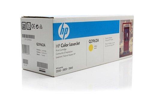 Tóner XXL Original para HP Color LaserJet 2550LN HP 122A Q3962A–PREMIUM de impresoras cartucho–Amarillo–4.000páginas