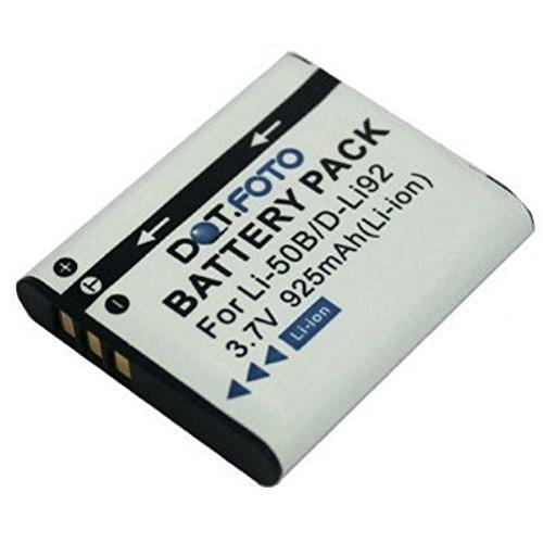 Dot.Foto - Batería para cámaras Olympus SH-21, SH-25MR, SP-720UZ, SP-800UZ, SP-810UZ, SZ-10,...