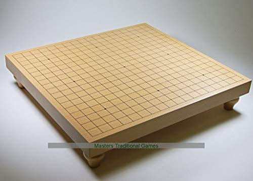 Masters Traditional Games Go Table Board - Goban 36mm with Legs