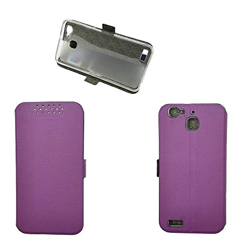 QiongniAN Funda para Huawei GR3 TAG-L01 TAG-L03 TAG-L13 TAG-L21 TAG-L22 TAG-L23 / Enjoy 5S Funda Carcasa Case Funda Purple
