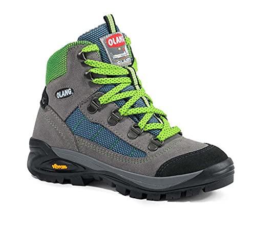 Olang Chaussures de randonnée pour enfant Tarvisio Gris 30
